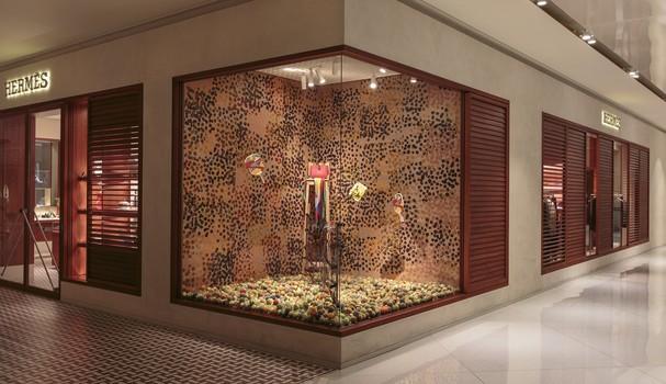Nova vitrine da Hermès (Foto: Felco)