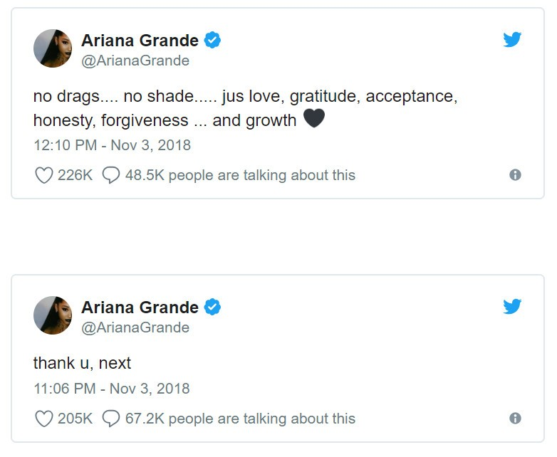 Ariana Grande (Foto: Twitter)