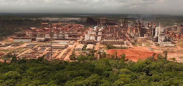 Unidade da Hydro Alunorte em Barcarena (Foto: Divulgação)