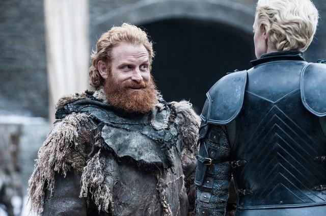 Tormund e Brienne de 'Game of Thrones' (Foto: Helen Sloan/HBO)