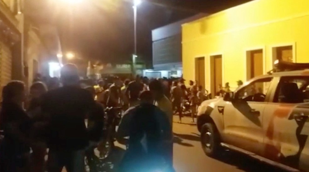 Adolescente morreu baleado após supostamente tentar assaltar comércio em Esperantina, no Piauí — Foto: Reprodução