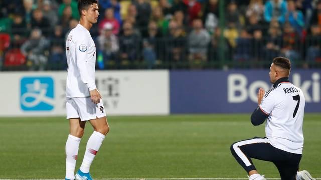 Cristiano Ronaldo, Lituânia x Portugal