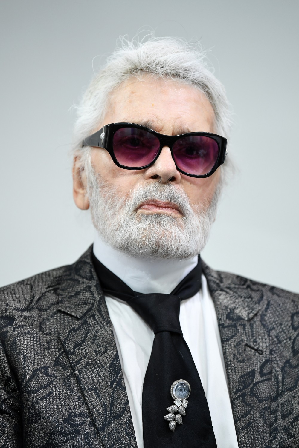 PARIS, FRANCE - JUNE 06: Karl Lagerfeld attends the LVMH Prize 2018 Edition at Fondation Louis Vuitton on June 6, 2018 in Paris, France.  (Photo by Pascal Le Segretain/Getty Images) (Foto: Getty Images)
