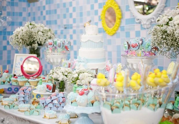 Detalhes da decoração do aniversário de Maelle (Foto: Lívia Capeli)