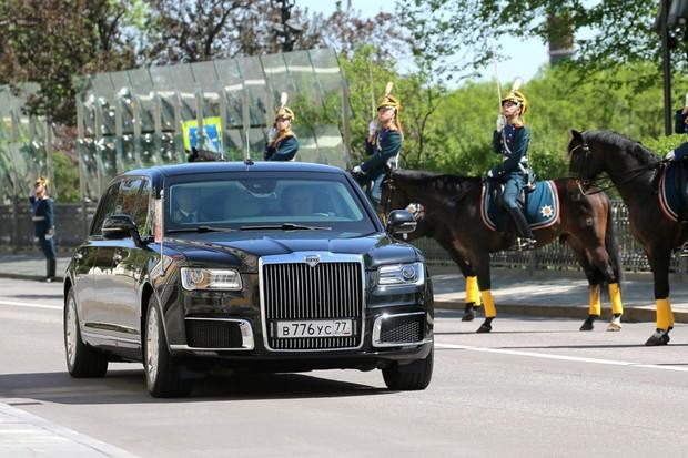 Auris Senat é o nome da nova limusine do Putin (Foto: Reprodução)