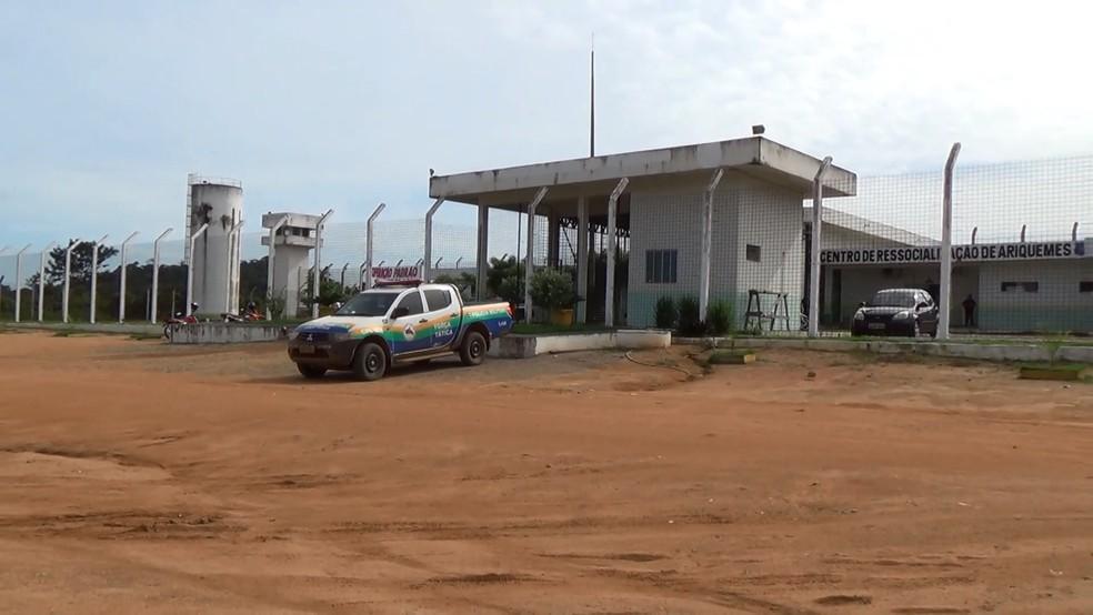 Centro de Ressocialização de Ariquemes — Foto: Rinaldo Moreira/G1