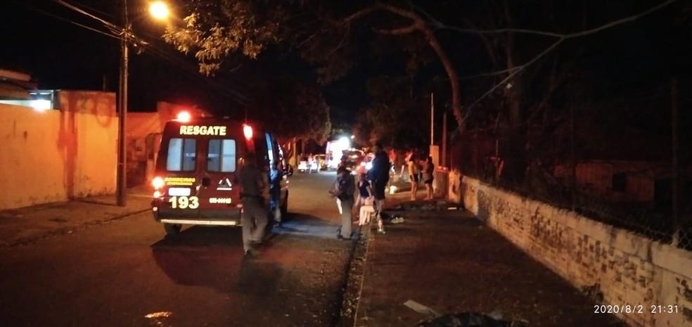 Confusão foi registrada no Jardim Monte Alto, em Presidente Prudente — Foto: Polícia Militar