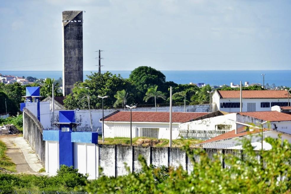 Penitenciária Estadual de Alcaçuz fica em Nísia Floresta, na Grande Natal — Foto: Pedro Vitorino