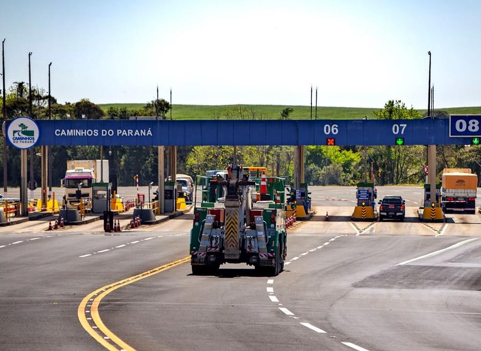 Reduções foram determinadas pelo TRF-4 no âmbito das Operações Integração I e II. — Foto: Caminhos do Paraná/Divulgação