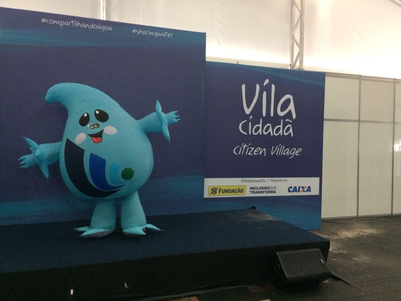 Conheça Gotita, a mascote do Fórum Mundial da Água