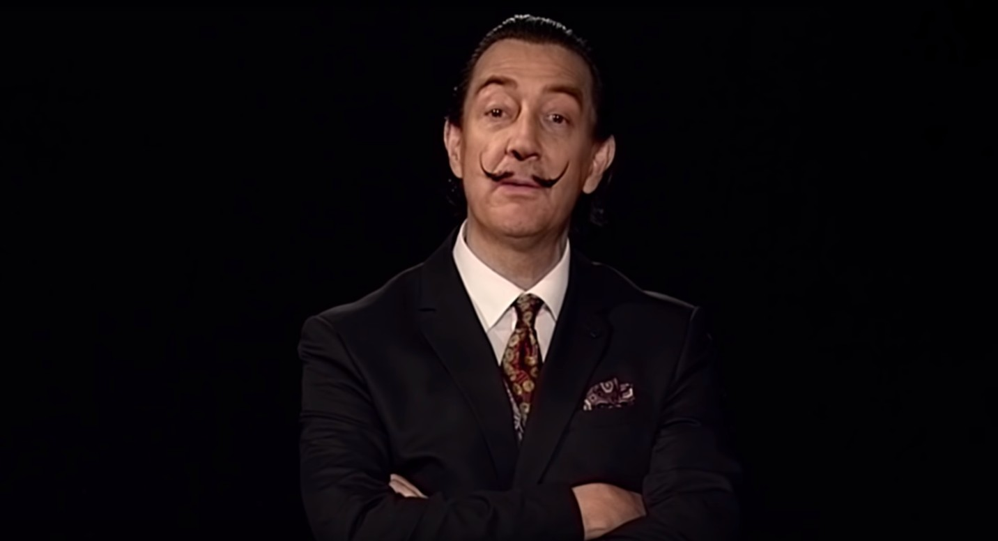 Salvador Dalí (Foto: Reprodução/YouTube)