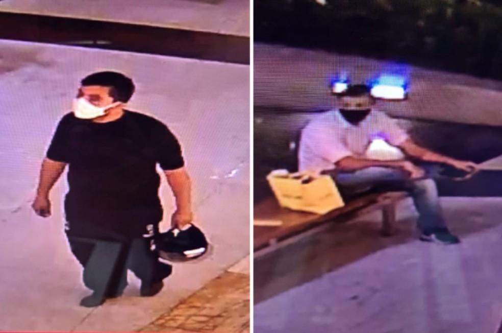 As informações iniciais apontam que um homem armado entrou no local se passando por cliente, enquanto o outro dava apoio do lado de fora.— Foto: SSPDS