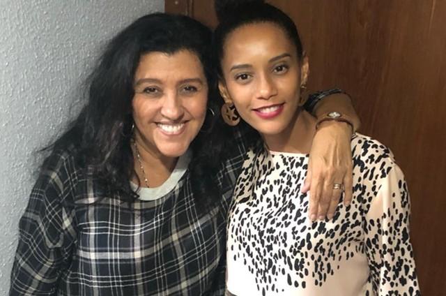 Regina Casé e Taís Araújo (Foto: Divulgação)