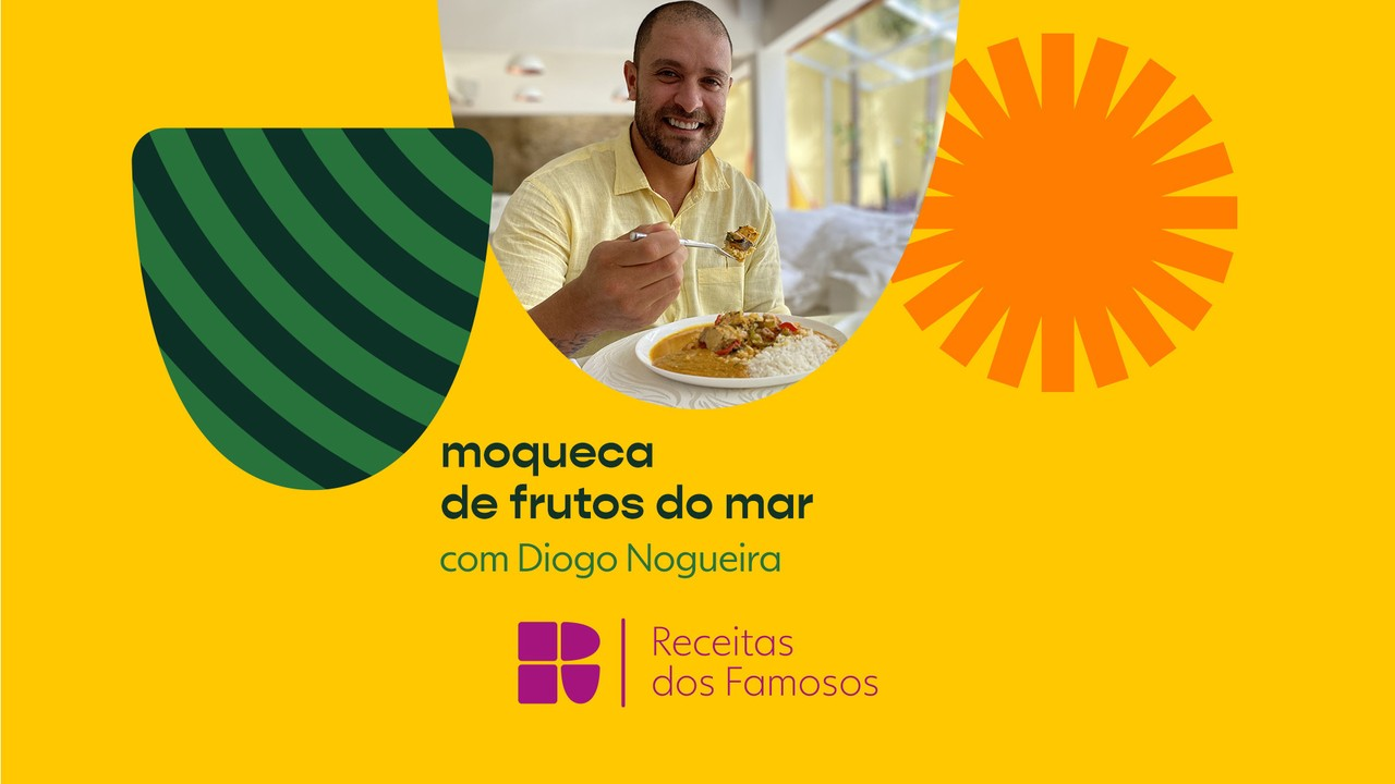 Diogo Nogueira ensina a fazer uma moqueca de frutos do mar
