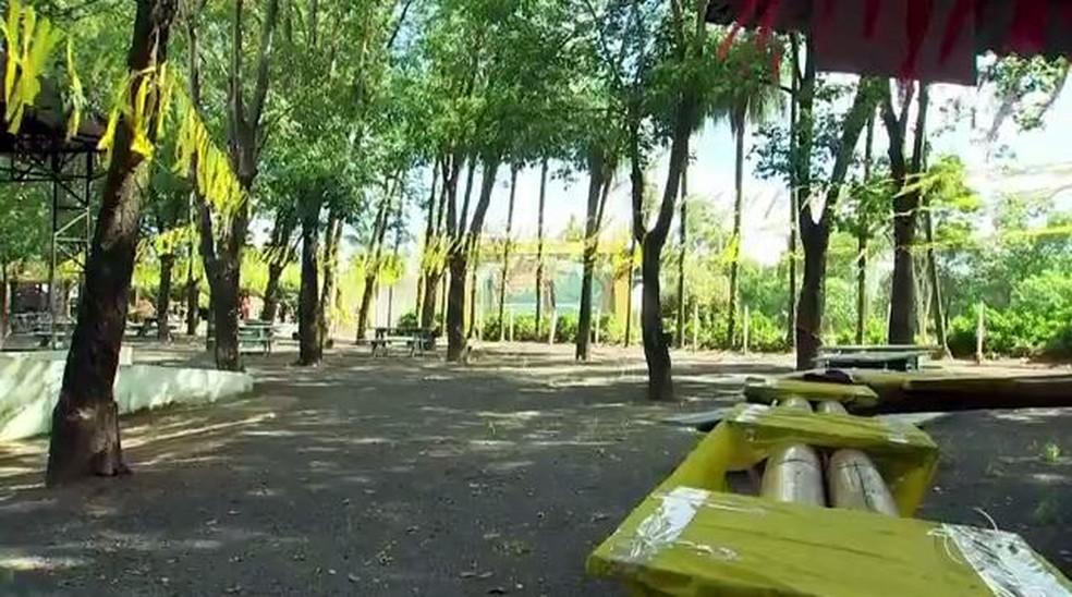 Festa do Milho espera receber 100 mil pessoas em Jaci (SP) (Foto: Reprodução/TV TEM)