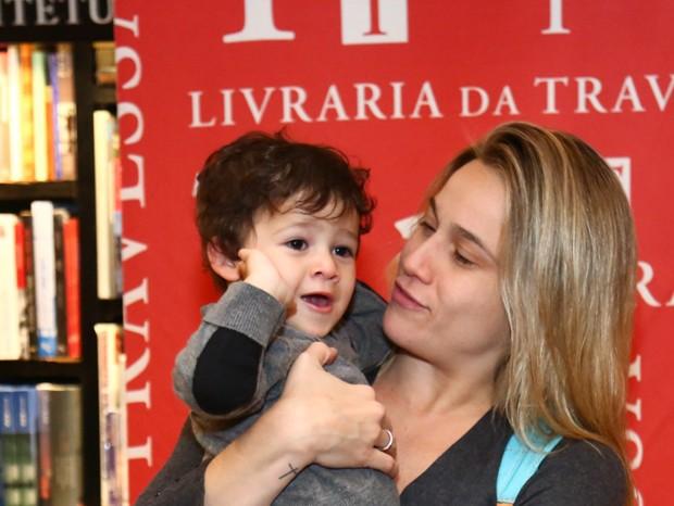 Fernanda Gentil e Gabriel (Foto: Roberto Filho/Brazil News)