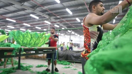 Com crise, escolas de samba do Rio trabalham com desfile mais 'clean'