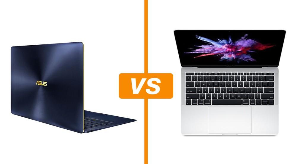 Zenbook 3 Deluxe vs Macbook Pro: qual é o melhor notebook top de linha? (Foto: Arte/TechTudo)