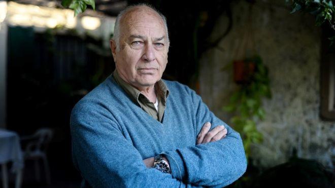 Rubén Fangio passou 13 anos na Justiça para provar ser filho do piloto da Fórmula 1 (Foto: GERMAN GARCIA ADRASTI/CLARÍN-BBC News)