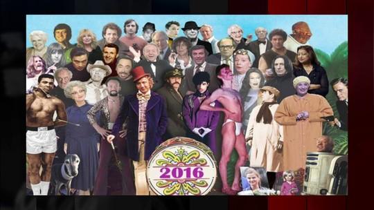 2016 chega no final com muitas mortes notáveis no mundo artístico
