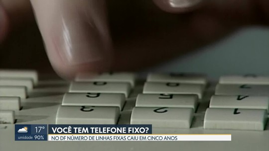 Levantamento da Codeplan mostra que brasiliense tem desistido de ter telefone fixo