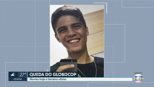 Morre terceira vítima da queda do Globocop no Recife