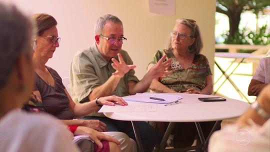 Idosos se juntam em comunidades para compartilhar o futuro