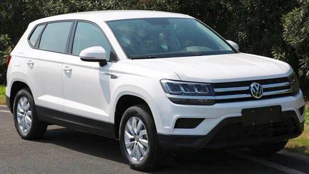 Volkswagen Tarek (Tharu) aparece em fotos na China (Foto: Reprodução)