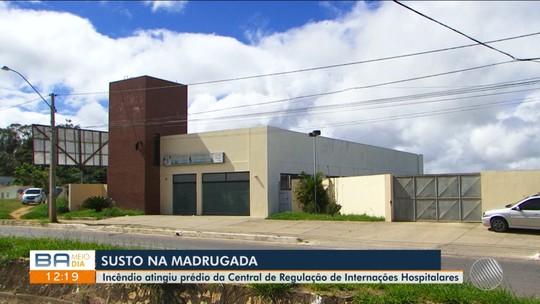 Incêndio atinge Central Reguladora de Hospitais do sudoeste da Bahia