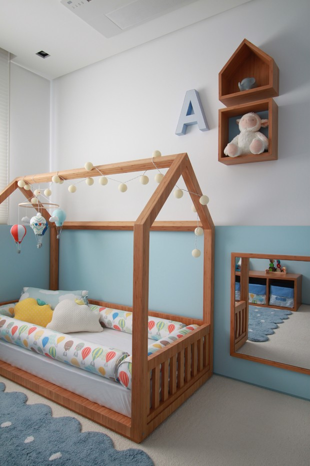 Cama montessoriana: saiba como usar e inspire-se com 8 ambientes (Foto: Divulgação)