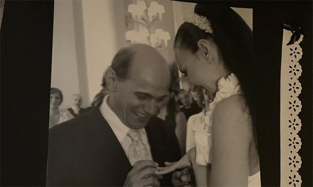 Veruska Seibel relembra casamento com Ricardo Boechat (Foto: Reprodução / Instagram)