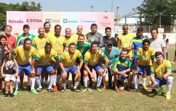 Seleção Brasileira de Artistas (Foto: Cleomir Tavares / Divulgação)