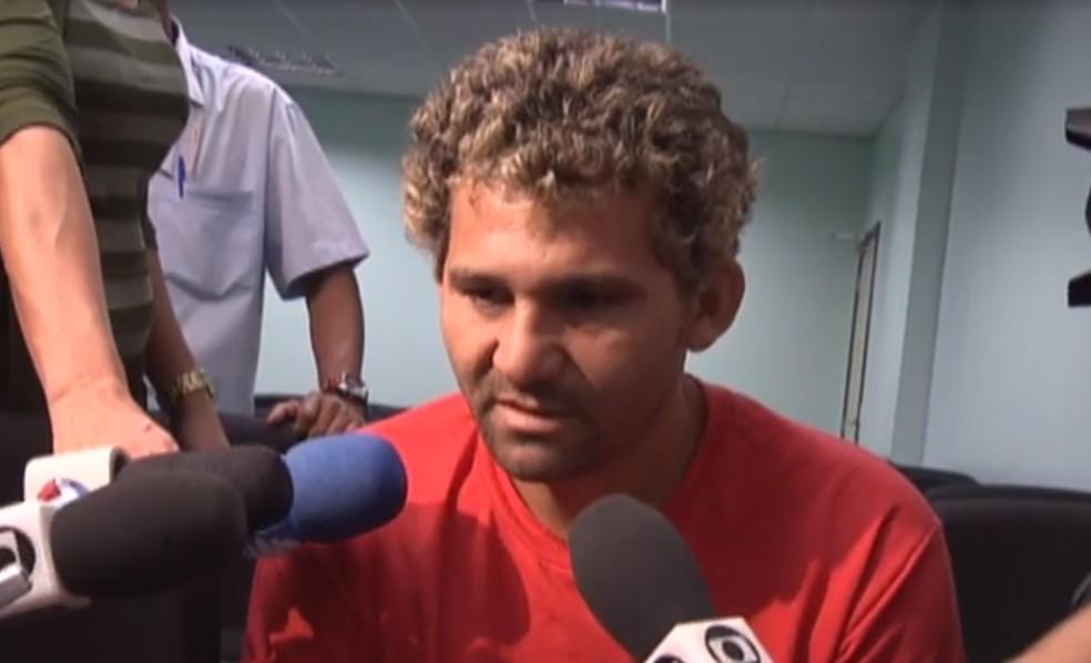 O ex-porteiro Leonardo Campos Alves — Foto: Reprodução/TV Globo