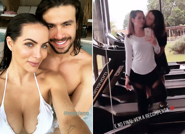 Carla Prata e Mariano (Foto: Reprodução / Instagram)