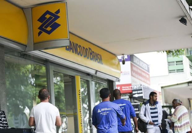 O Banco do Brasil (BB) anunciou que vai fechar várias agências pelo país (Foto: Marcelo Camargo/Agência Brasil)
