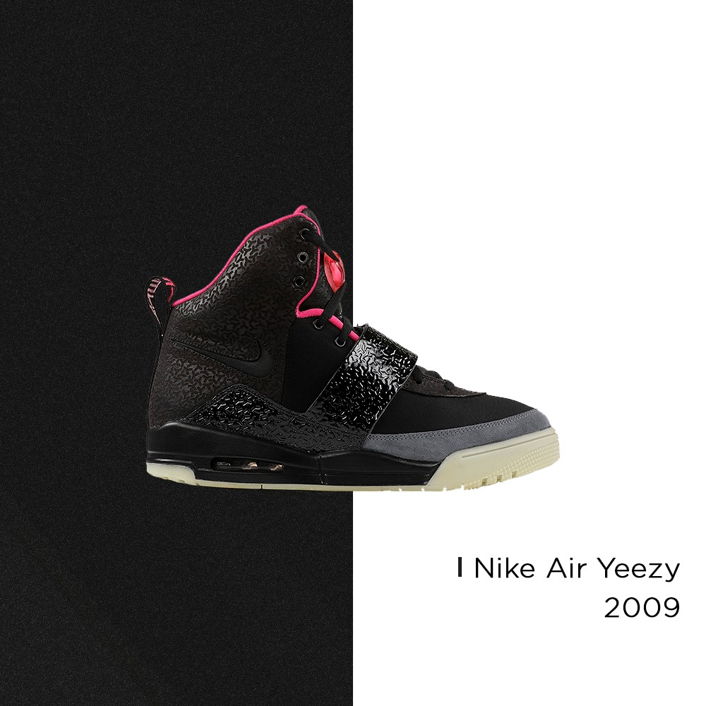Nike Air Yeezy - 2009 (Foto: Reprodução | arte: @matthhenriquee)