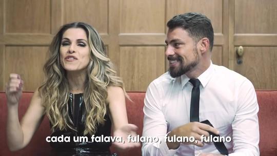 Ingrid Guimarães fala de Cauã Reymond em 'De pernas pro ar 3': 'Ele foi meio gogo boy'