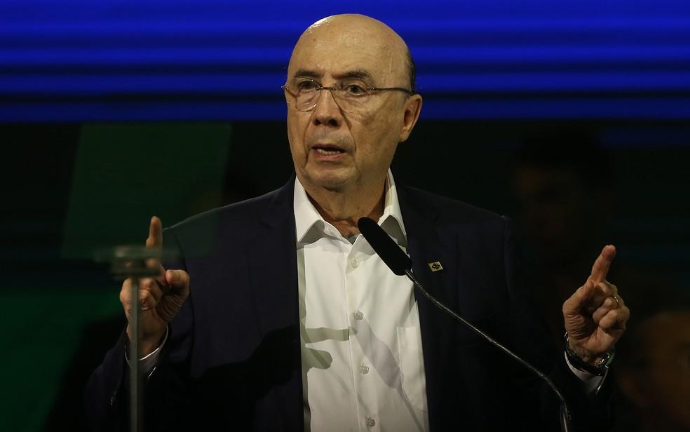 O candidato do MDB à Presidência, Henrique Meirelles — Foto: Dida Sampaio/Estadão Conteúdo