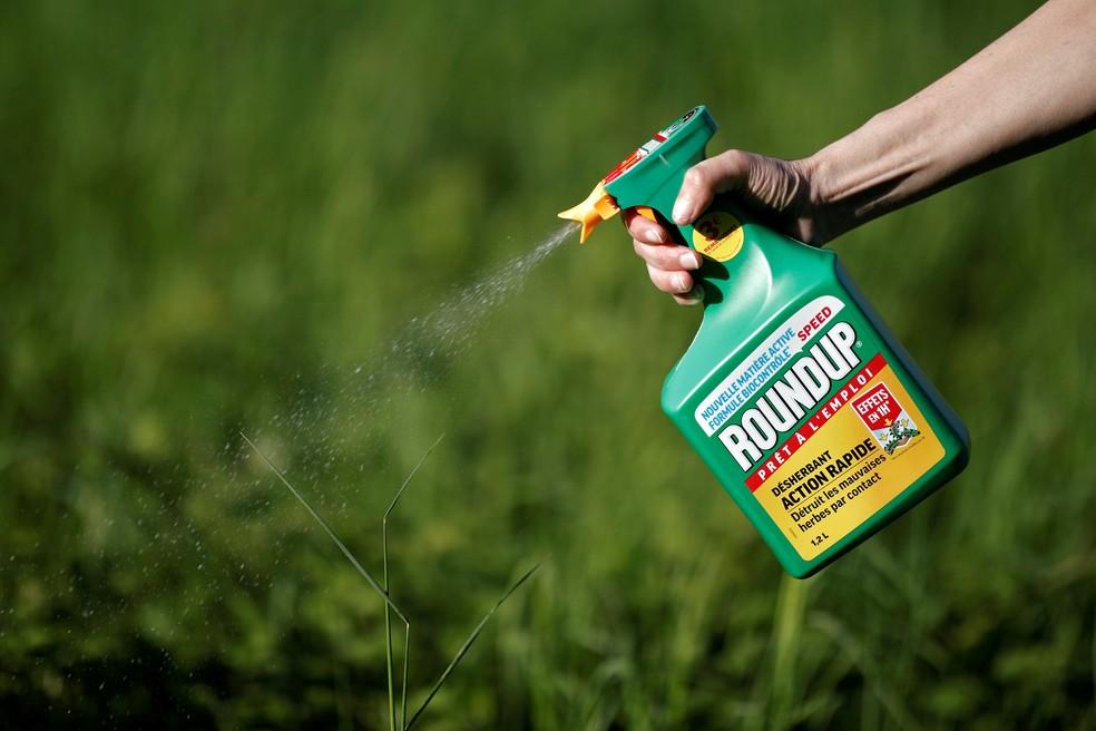 O glifosato é um dos herbicidas mais usados no mundo — Foto: Benoit Tessier/File Photo/Reuters