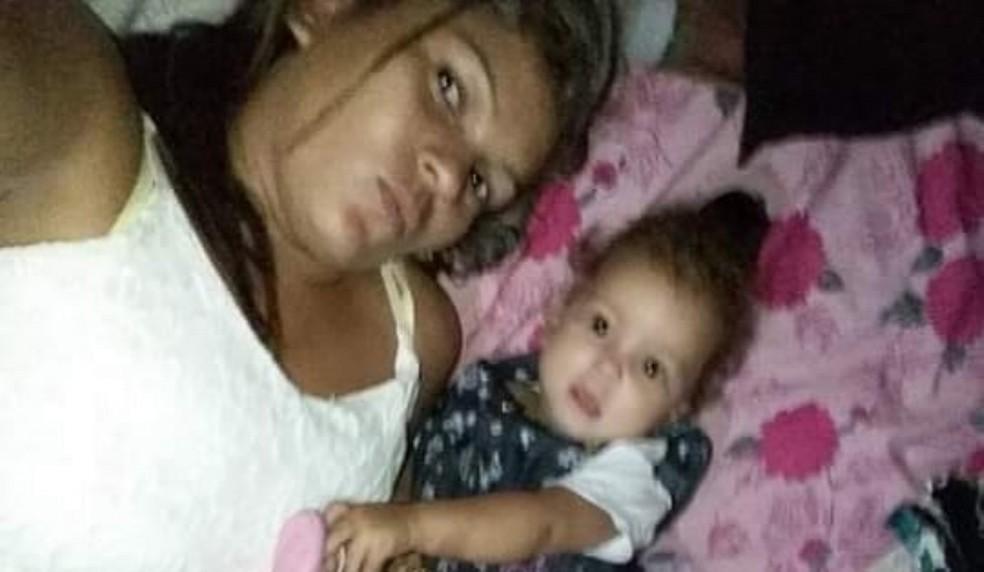 Jamylle Santos de dois anos foi atingida durante tiroteio em Açailândia — Foto: Divulgação/Polícia