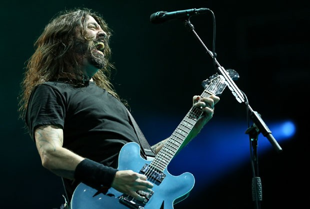 Dave Grohl, do Foo Fighters (Foto: Brazil News / Roberto Filho)