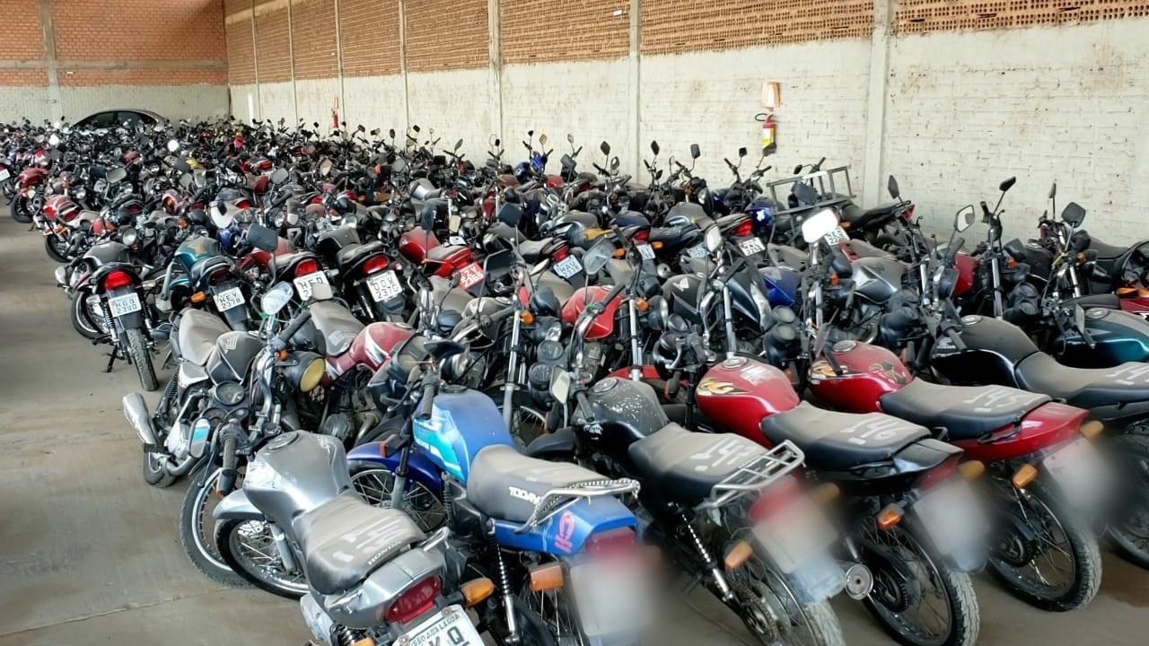 Polícia Civil realiza leilão online de mais de 500 veículos em Montes Claros; saiba como participar