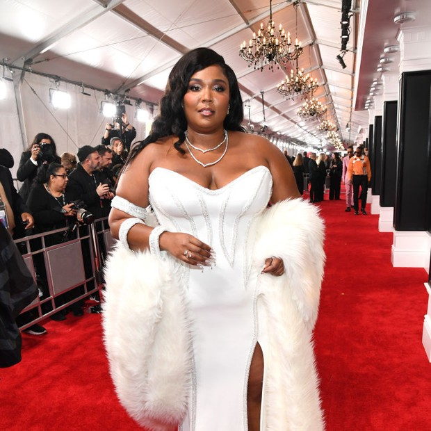 LOS ANGELES, CALIFORNIA - JANUARY 26: Lizzo attends the 62nd Annual GRAMMY Awards at STAPLES Center on January 26, 2020 in Los Angeles, California. (Photo by Kevin Mazur/Getty Images for The Recording Academy) (Foto: Getty Images for The Recording A)