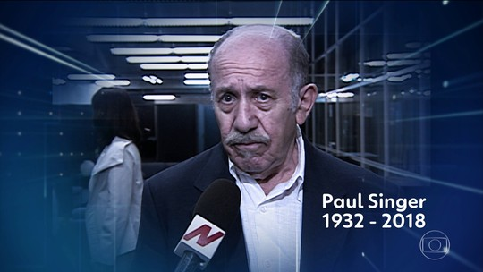 Economista Paul Singer morre aos 86 anos em São Paulo