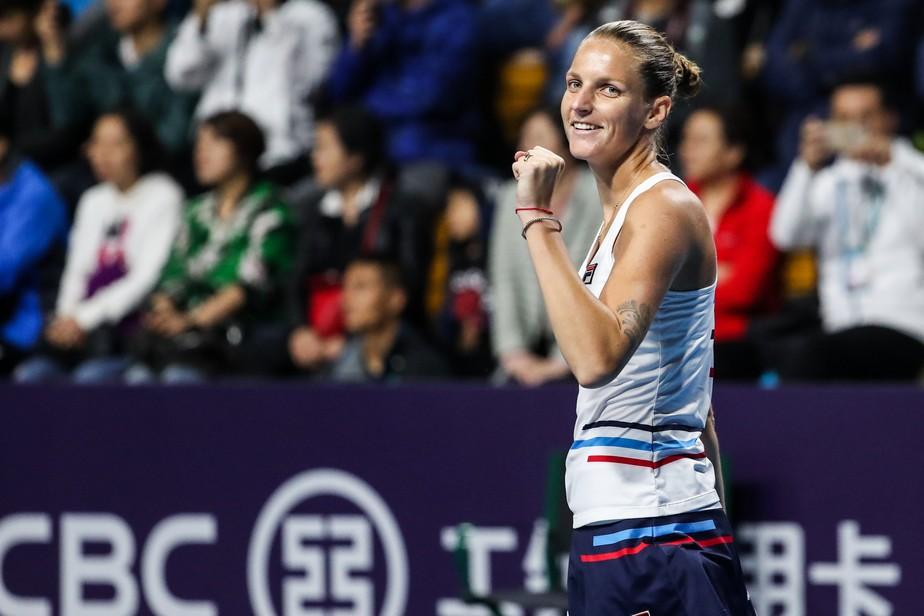Karolina Pliskova é campeã do Aberto de Zhengzhou e chega a quatro títulos na temporada