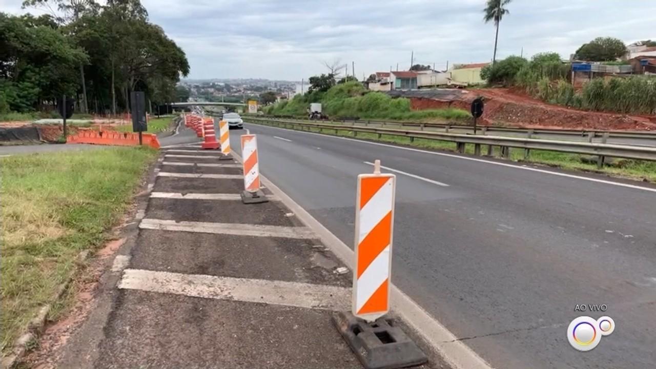 Acessos da Rondon à avenida Cruzeiro do Sul são interditados para obras em Bauru