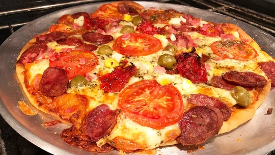 Pizza da Ana Maria Braga