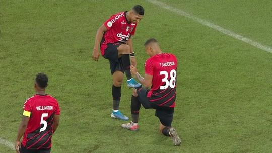 Athletico 1x0 Botafogo: Cirino perde pênalti, e Thonny Anderson faz o gol do jogo; veja os vídeos
