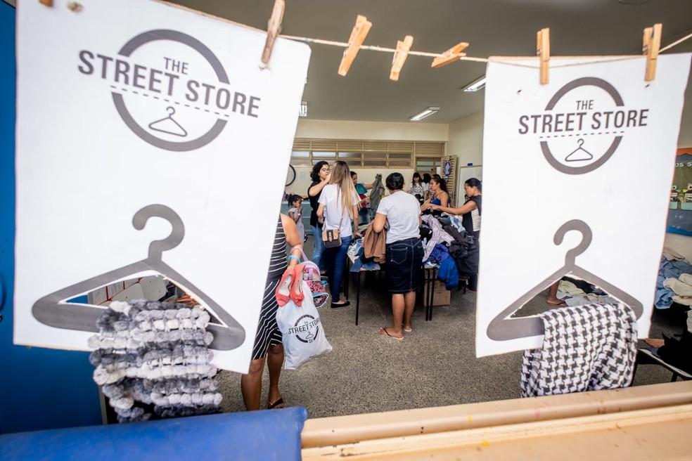 Loja The Street Store — Foto: Divulgação