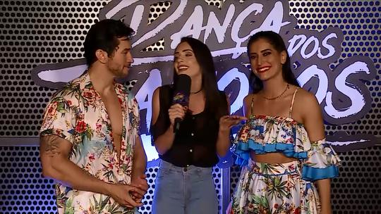 Maria Joana comemora nota 10 do júri em sua apresentação de salsa: 'Muito feliz'